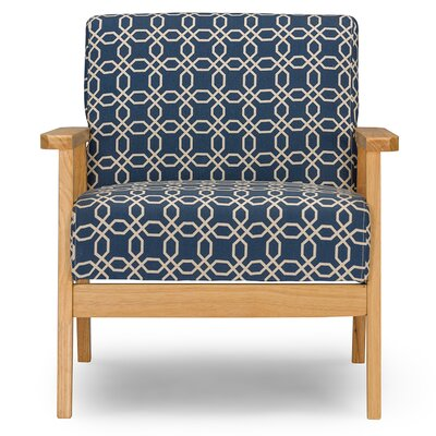 Wholesale Interiors Baxton Studio Francis Retro Mid Century Fabric Arm Chair