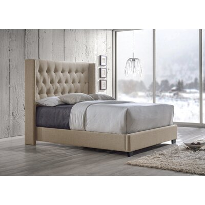 Wholesale Interiors Baxton Studio Upholstered Platform Bed