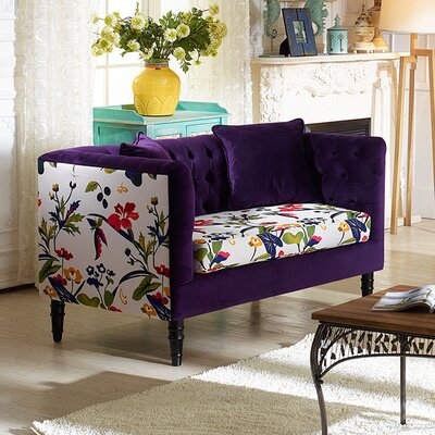 Wholesale Interiors Baxton Studio Freya Loveseat