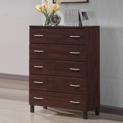 Wholesale Interiors Baxton Studio 5 Drawer Chest