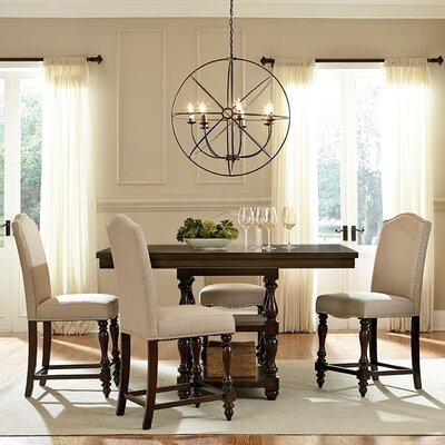 Wholesale Interiors Baxton Studio 5 Piece Counter Height Dining Set