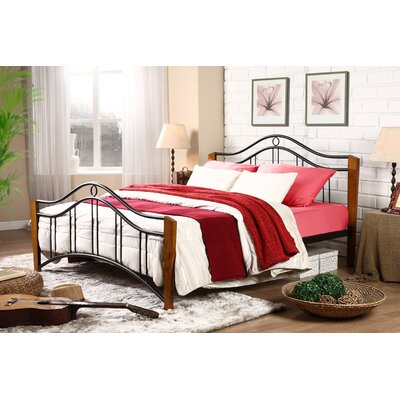 Wholesale Interiors Baxton Studio Queen Platform Bed