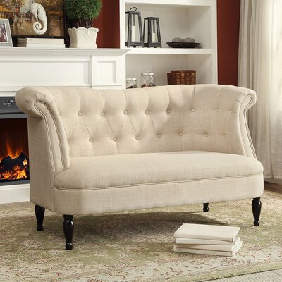 Wholesale Interiors Baxton Studio Erica Loveseat