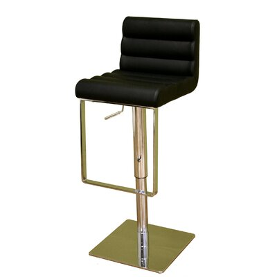 Wholesale Interiors Baxton Studio Adjustable Height Bar Stool Image