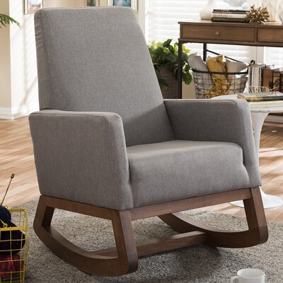Wholesale Interiors Baxton Studio Rocking Chair Image