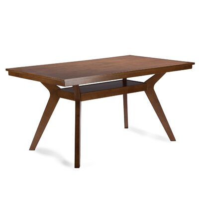 Wholesale Interiors Baxton Studio Dining Table