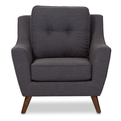 Wholesale Interiors Baxton Studio Mercede Upholstered Club Chair