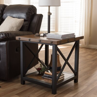 Wholesale Interiors Amalea End Table