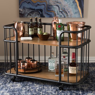 Wholesale Interiors Teresa Serving Cart