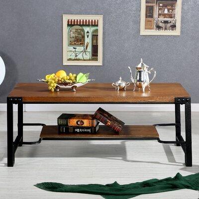 Wholesale Interiors Baxton Studio Gibson Coffee Table with Magazine Rack