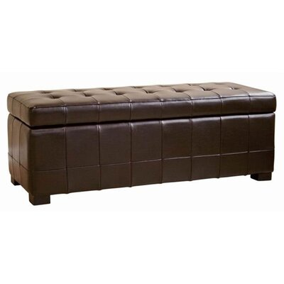 Wholesale Interiors Baxton Studio Parolles Tufted Storage Ottoman