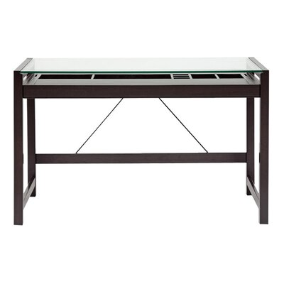 Wholesale Interiors Baxton Studio Computer Desk with Keyboard Tray