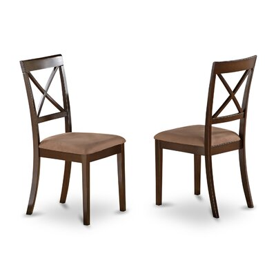 East West Furniture Boston Side Chair (Set of 2)