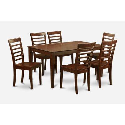 Charlton Home Smyrna 7 Piece Dining Set
