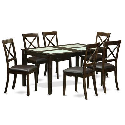 East West Furniture Cabos 7 Piece Dining Set