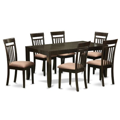 East West Furniture Lynfield 7 Piece D..