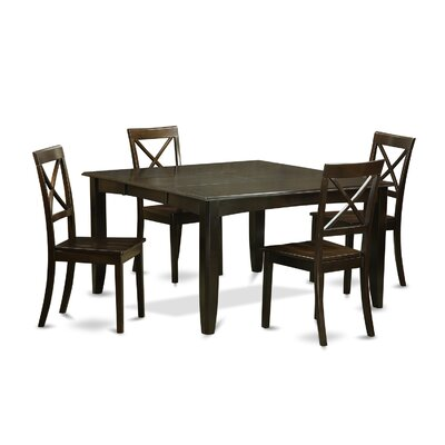 East West Furniture Parfait 5 Piece Dinni..