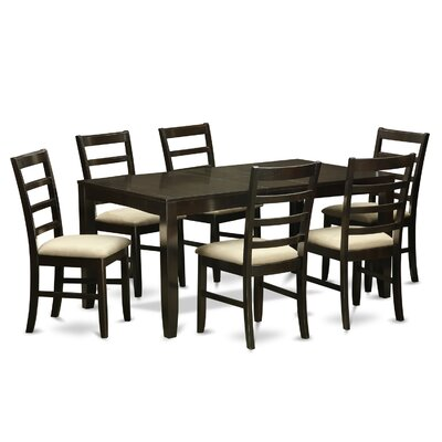 East West Furniture Lynfield 7 Piece Dining Set