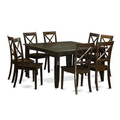 East West Furniture Parfait 9 Piece Dinni..