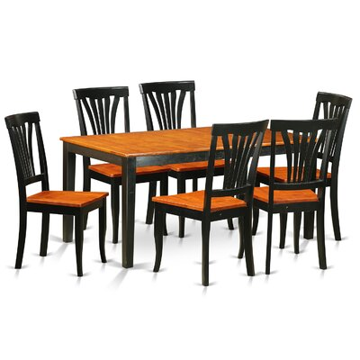 East West Furniture Nicoli 7 Piece Dining Set Image