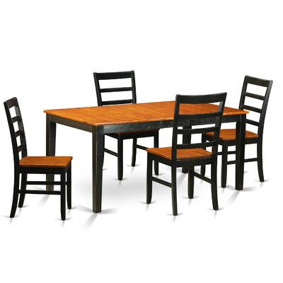 East West Furniture Nicoli 5 Piece Dining Set