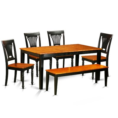 East West Furniture Nicoli 6 Piece Dining Set