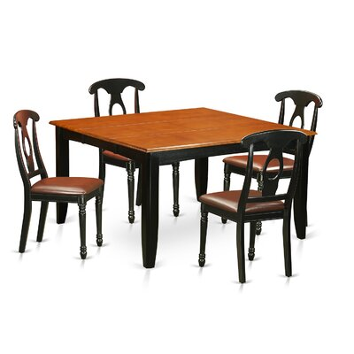East West Furniture Parfait 5 Piece Dining Set
