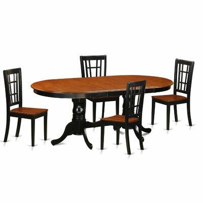 East West Furniture Plainville 5 Piece Dinin..