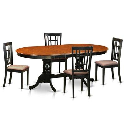 East West Furniture Plainville 5 Piece Di..