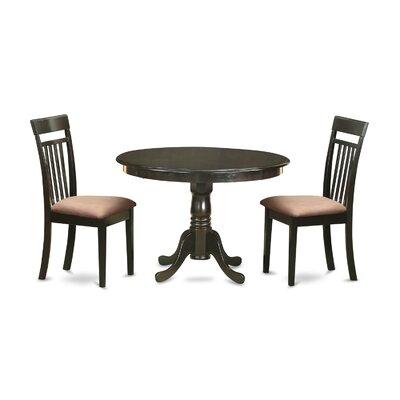 East West Furniture Hartland 3 Piece Dining Set
