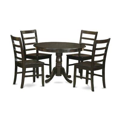 East West Furniture Hartland 5 Piece Dining Set