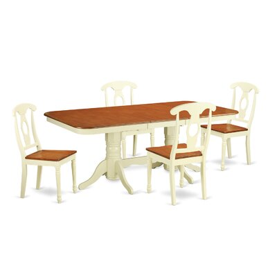East West Furniture Napoleon 5 Piece Dinning Set