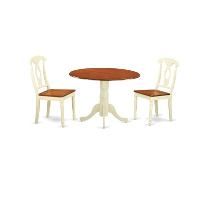 Charlton Home Gloucester 3 Piece Dinning Set