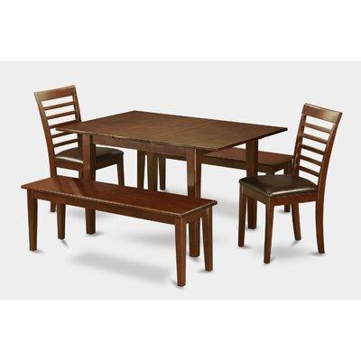 East West Furniture Milan 5 Piece Dining Set
