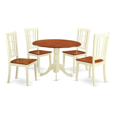 Charlton Home Gloucester 5 Piece Dining Set