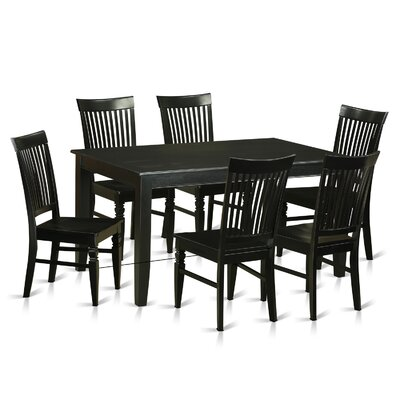 East West Furniture Dudley 7 Piece Dining Set