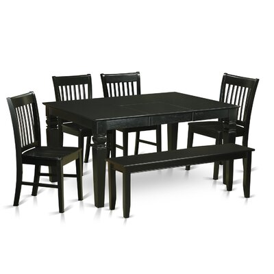 Breakwater Bay Piermont 6 Piece Dining Set