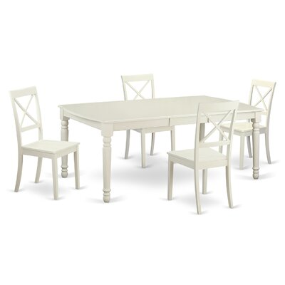 East West Furniture Dover 5 Piece Dining Set