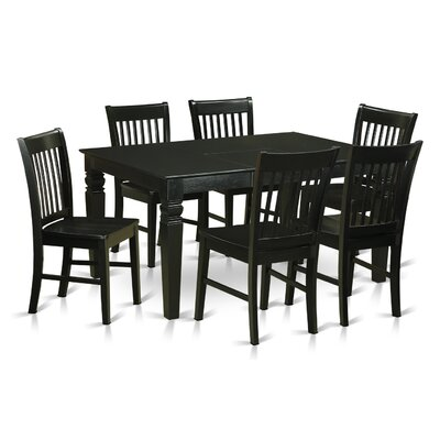 Breakwater Bay Piermont 7 Piece Dining Set