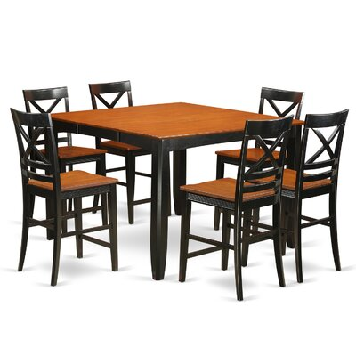 Red Barrel Studio Tamarack 7 Piece Counter Height Pub Table Set