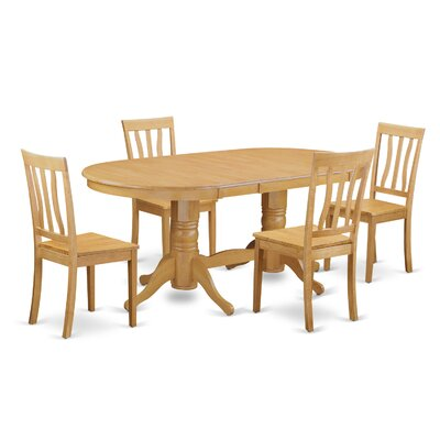 Darby Home Co Rockdale 5 Piece Dining Set