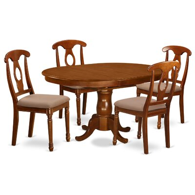East West Furniture Portna 5 Piece Dining Set