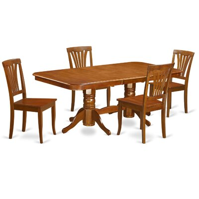 East West Furniture Napoleon 5 Piece Dining Set