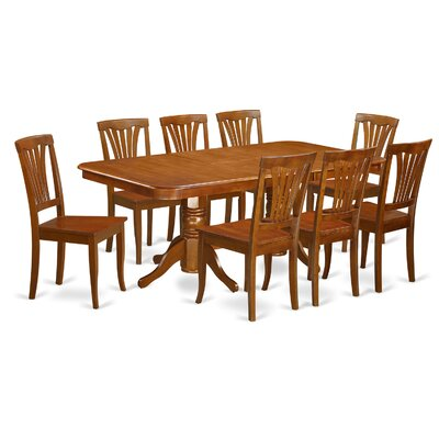 East West Furniture Napoleon 9 Piece Dini..