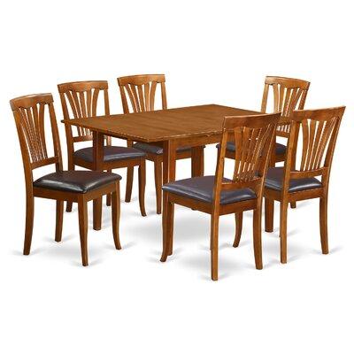East West Furniture Milan 7 Piece Dining Set