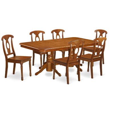 East West Furniture Napoleon 7 Piece Dini..