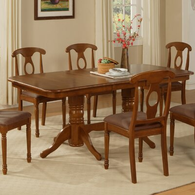 East West Furniture Napoleon Dining Table