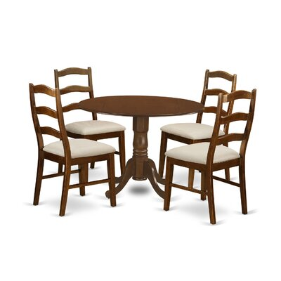 East West Furniture Dublin 5 Piece Dining Set