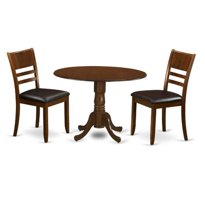 East West Furniture Dublin 3 Piece Dining Set