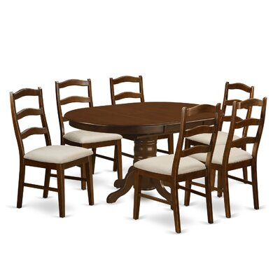 East West Furniture Kenley 7 Piece Dining Set